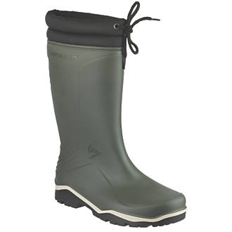 Dunlop Non Safety Footwear Blizzard Non-Safety Wellington Boots Green Size 9