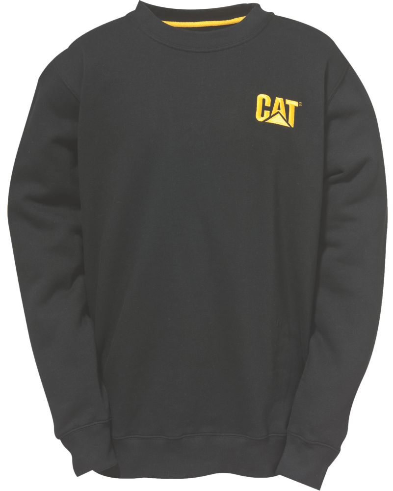 CAT C1910752 Trademark Crew Top Black XL
