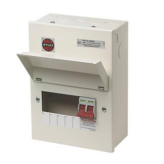 domestic consumer units fuse box fuse boxes fuse board wylex 100a 5 way metal consumer unit
