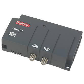 Labgear LDA101S 1Way VHF  UHF Aerial Amplifier 1 Input 1 Output