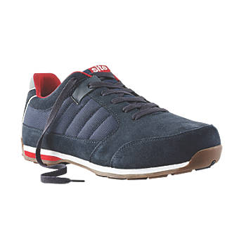 Site Strata Safety Trainers Navy Size 10.