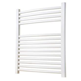 Flomasta Curved Ladder Towel Radiator White 700 x 600mm 1269BTU