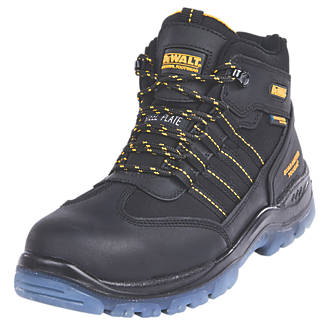 DeWalt Nickel S3WR Waterproof Safety Boot Black Size 8.