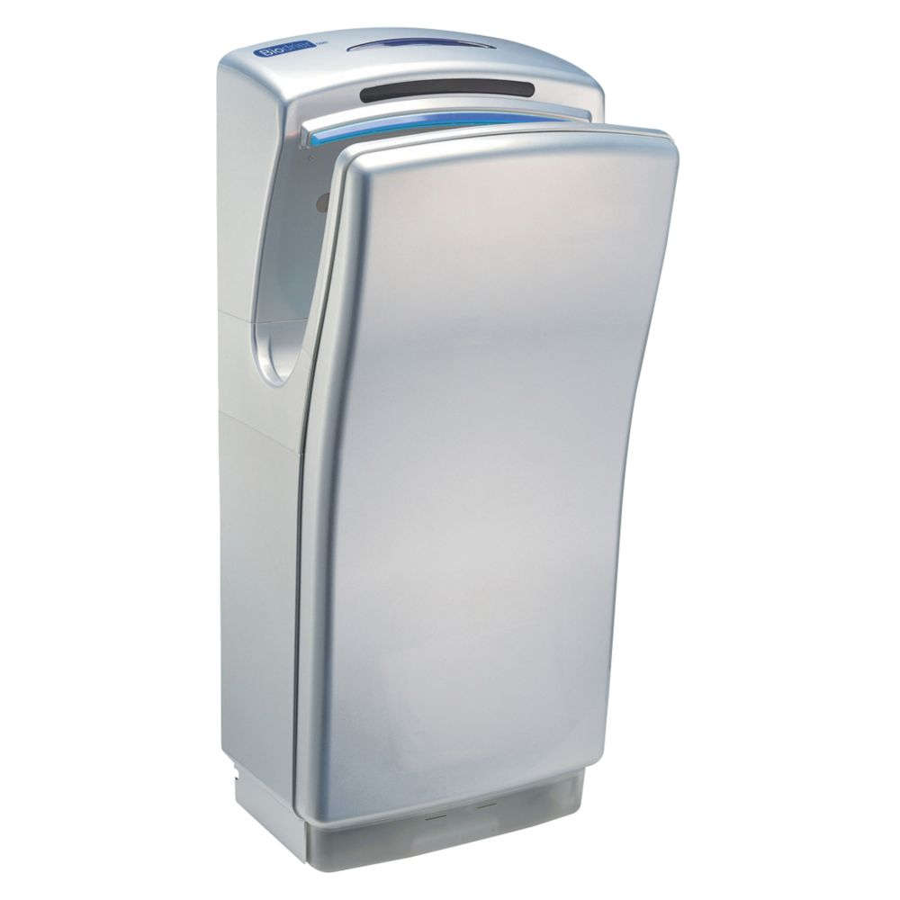 Biodrier Business² Blade Hand Dryer Metallic Silver 0.7-1.4kW