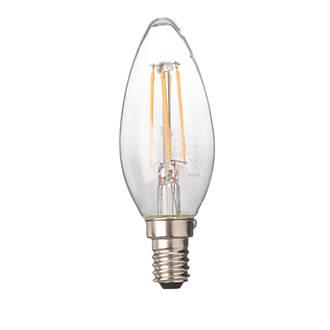 Screwfix Light Bulbs: LED Filament Candle Lamp Warm White SES 4W   Light Bulbs   Screwfix.com,Lighting