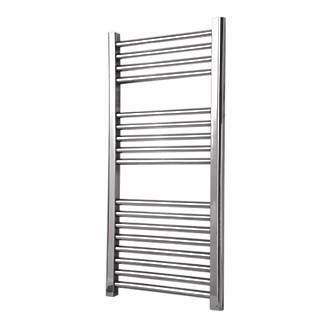 Flomasta Flat Towel Radiator Chrome 900 x 450mm 784BTU