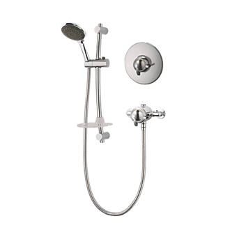Triton Saro BuiltInExposed Thermostatic Concentric Mixer Shower Chrome