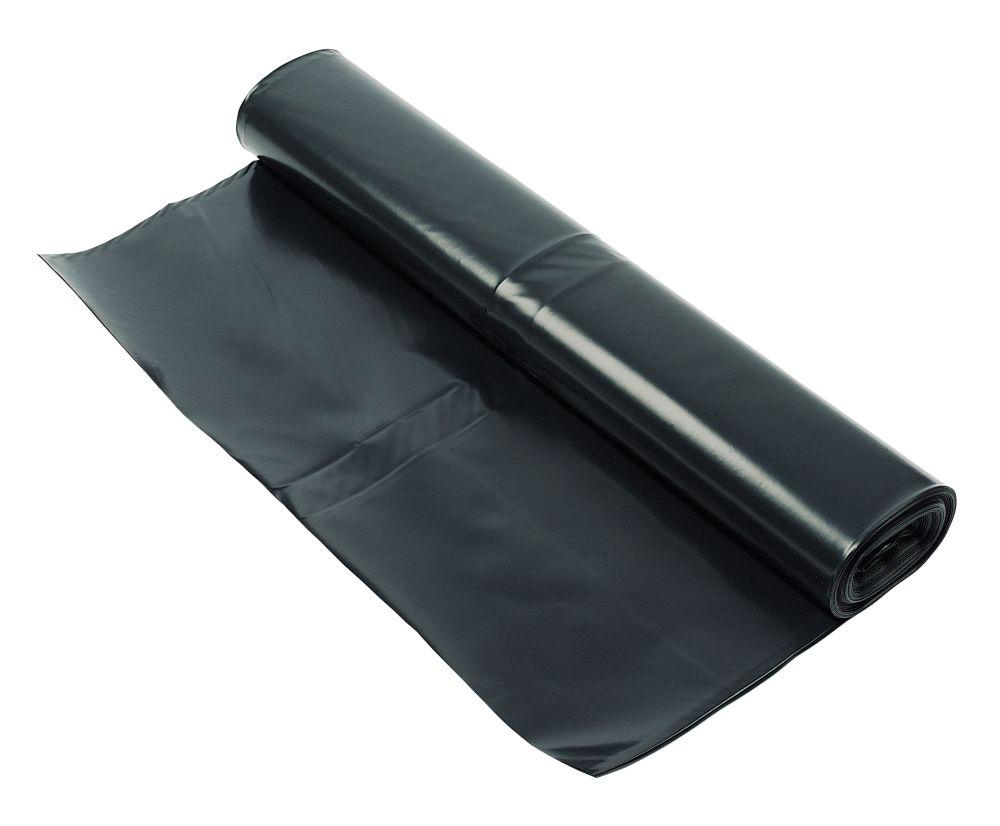 DMP Damp-Proof Membrane Black 1000ga 4 x 15m