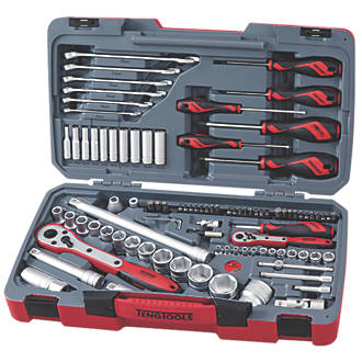 Teng Tools Mixed Socket & Tool Set 95 Pieces