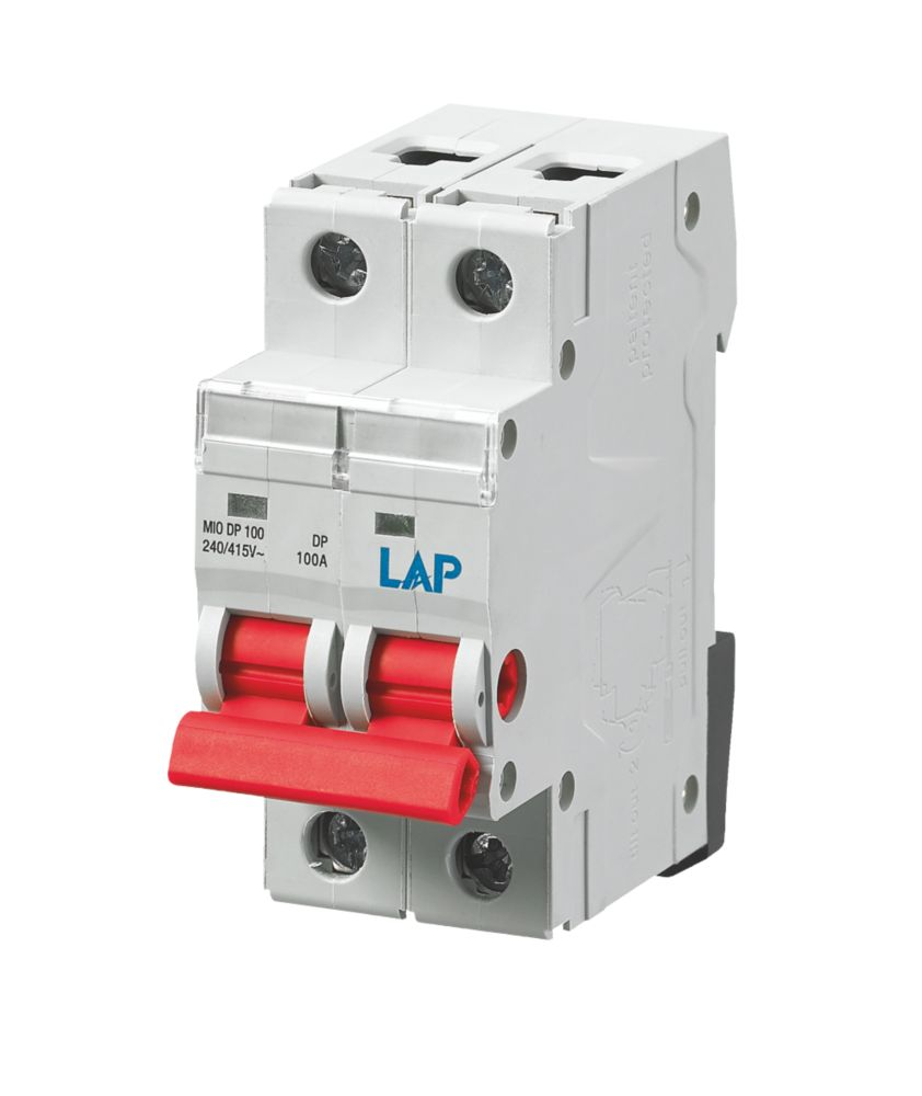 Image of LAP 100A 2G Main Switch Disconnector