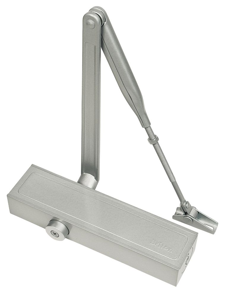 Image of Briton 1120B Overhead Door Closer Silver