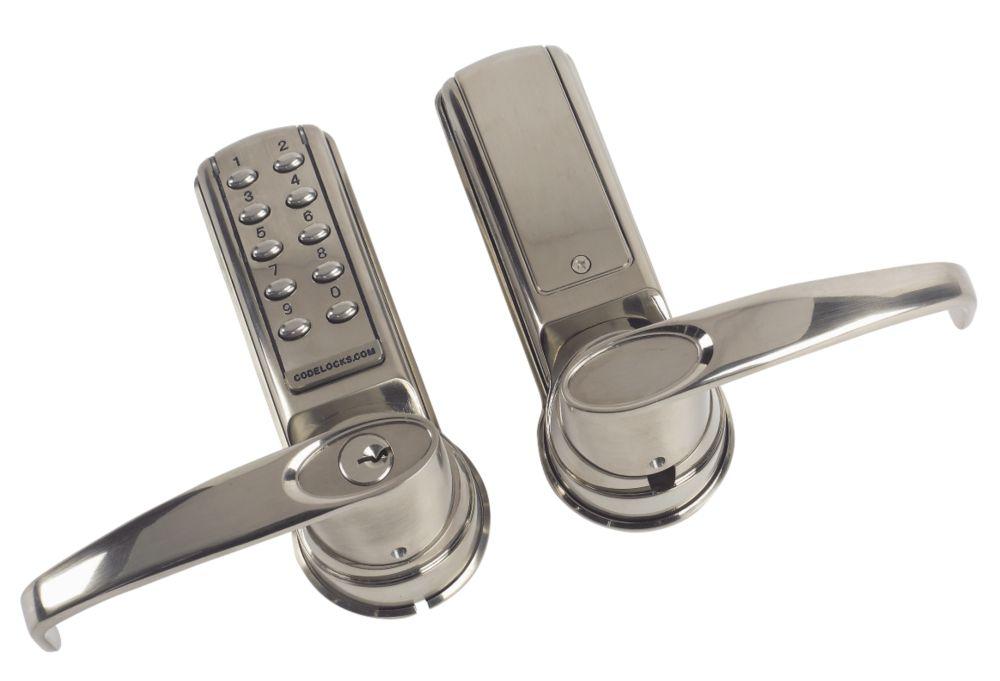Codelocks CL5020SS Electronic Heavy Duty Push Button Lock Mortice