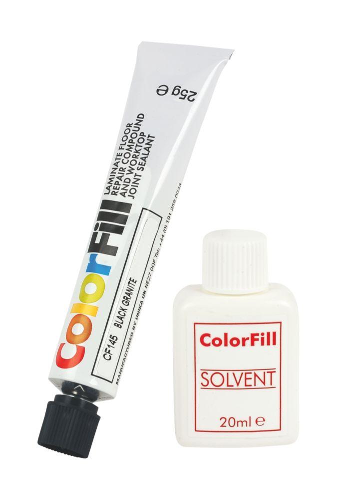 Colorfill Worktop Compound Black Granite 2 Pcs