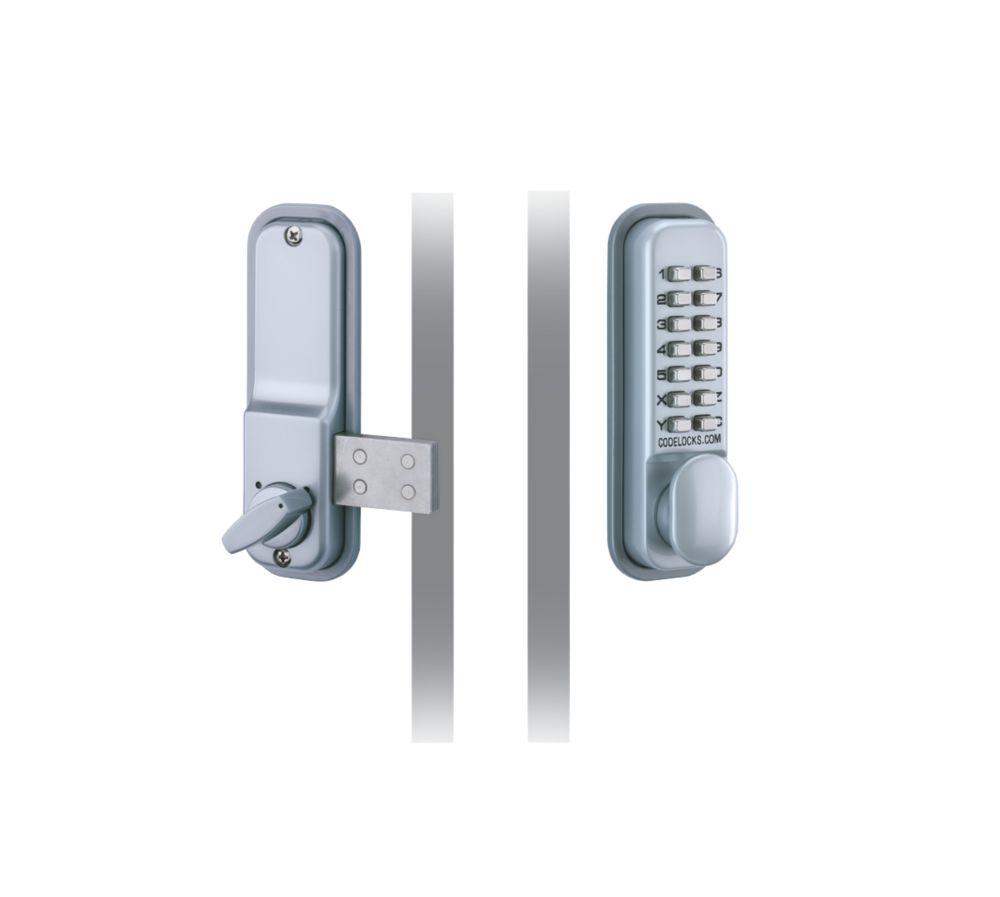 Codelocks Mechanical Medium Duty Push Button Lock Surface Deadbolt