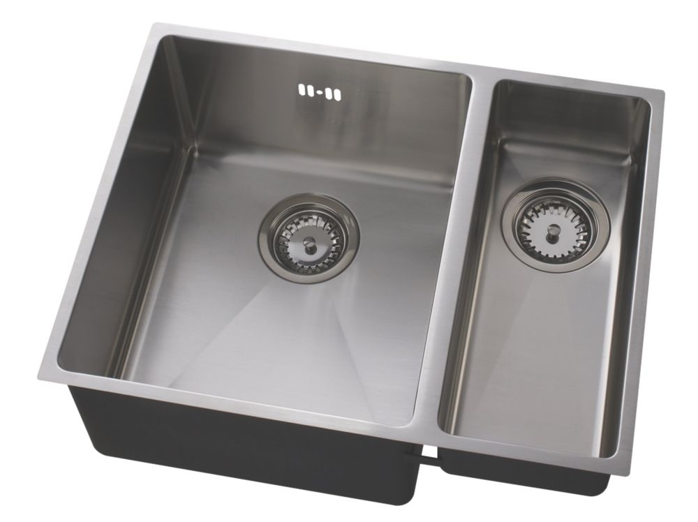 Astracast Minimo Cubic Inset Sink Stainless Steel 1½-Bowl 558 x 225mm