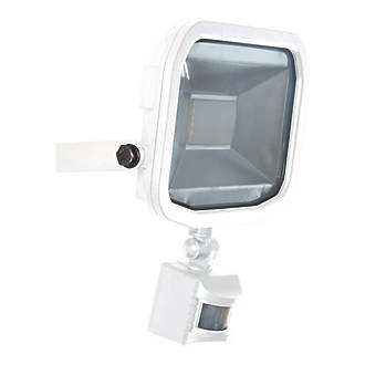 Luceco Guardian Slimline LED PIR Floodlight White 30W