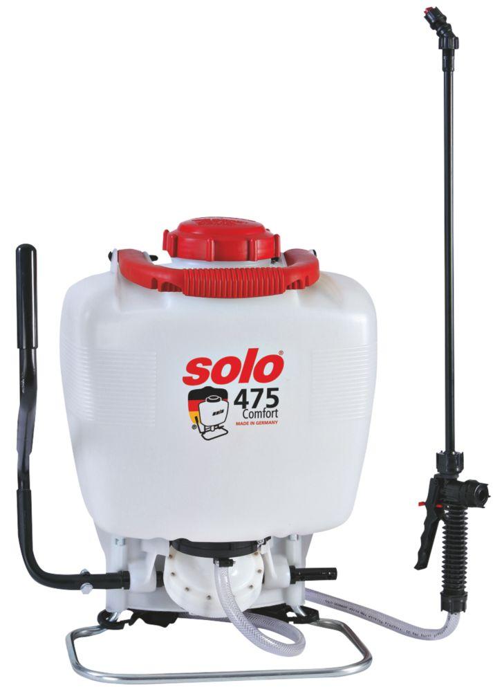 Image of Solo SO475/D White Comfort Backpack Sprayer 15Ltr