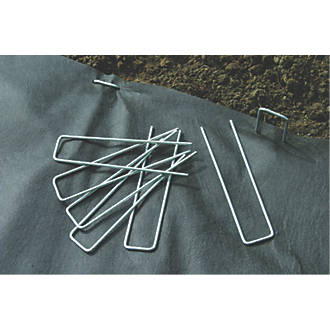 Apollo Landscape Fabric Ground Hooks 6 Pack