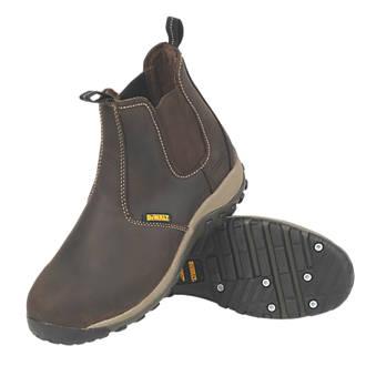 DeWalt Radial Dealer Safety Boots Brown Size 12