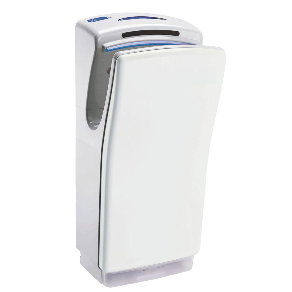 Biodrier Business² Ultra Fast Blade Hand Dryer White 0.7-1.4kW