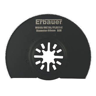 Erbauer Wood/Metal/Plastic Segmented Cutting Blade 80mm.