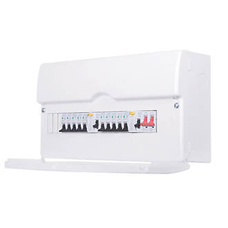 domestic consumer units fuse box fuse boxes fuse board bg 13 way dual rcd metal consumer unit 10 mcbs