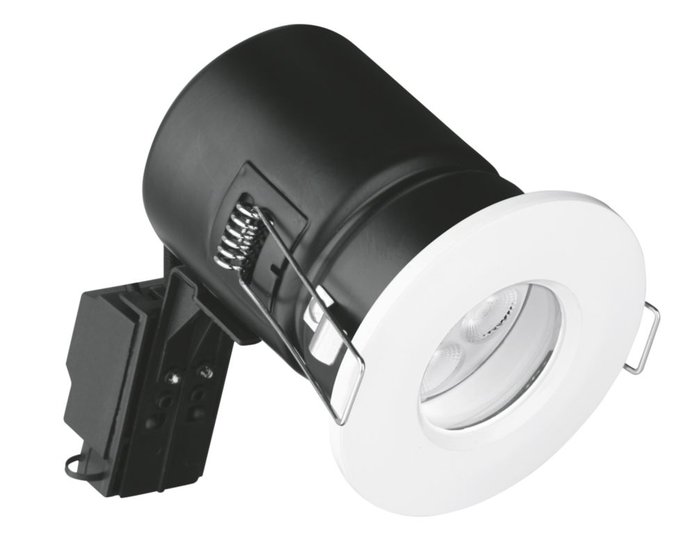 Aurora Fire Rated Fixed LED Downlight IP65 White 4.5W