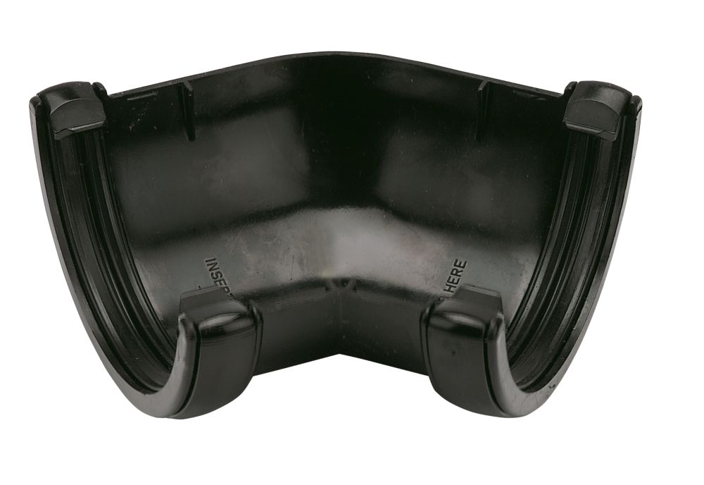 135° Gutter Angle Black 112mm