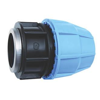 FloPlast FLOPLAST FEMALE PIPE ADAPTOR 20MM X ¾