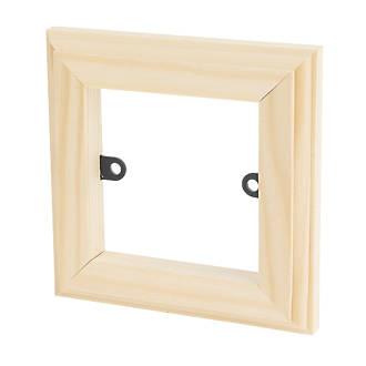 Chrome Light Switch Surround: Varilight 1-Gang Light Switch Frame Surround Unfinished,Lighting