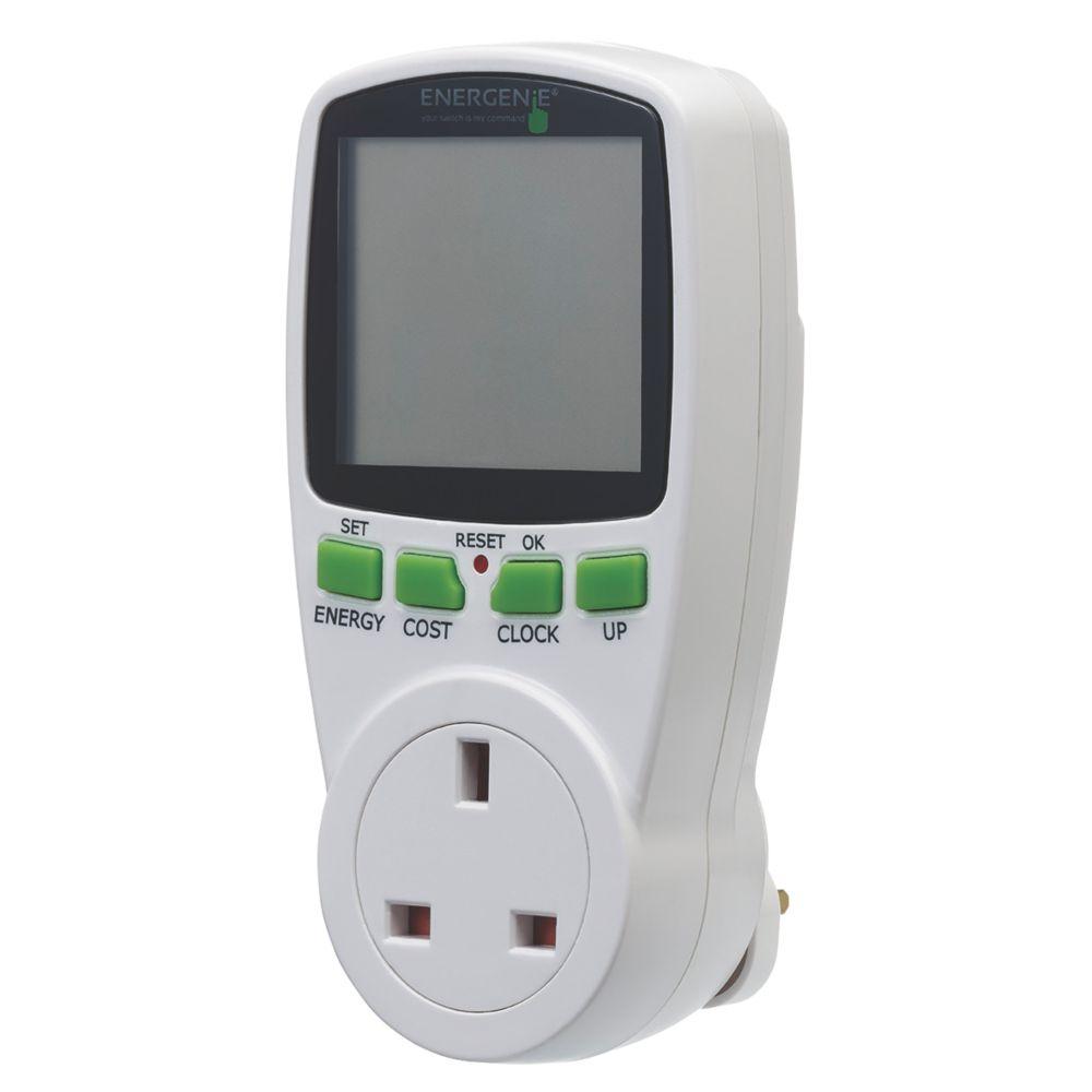 Image of Energenie ENER007 Energy Saving Power Meter Socket
