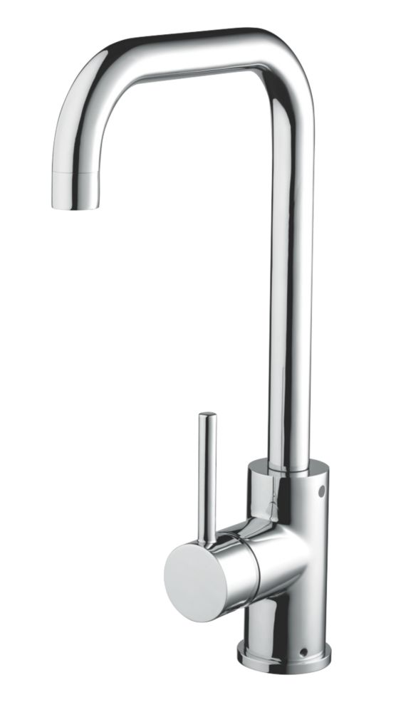 White Kitchen Mixer Tap bristan lemon mono mixer kitchen tap chrome | kitchen mixer taps