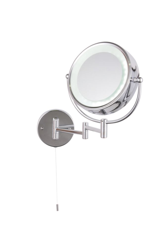 Saxby Omega LED Bathroom Shaver Mirror 21W Bathroom Lighting
