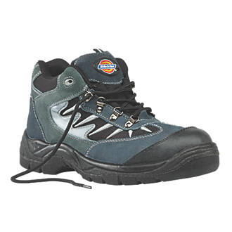 Dickies Storm Safety Trainers Grey  Black Size 9