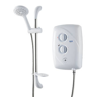 Triton T80 EasiFit Manual Electric Shower White 8.5kW
