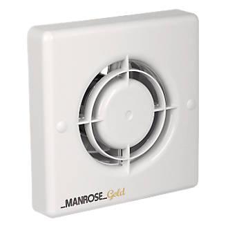 Manrose MG100S 20W Gold Standard Long Life Axial Bathroom Extractor Fan. Manrose XF100T 20W Axial Bathroom Fan   Bathroom Extractor Fans