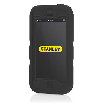 Stanley Dozer iPhone 5 Mobile Phone Case & Holster Black & Yellow