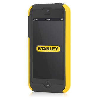 Stanley Highwire iPhone 5 Mobile Phone Case & Holster Black & Yellow