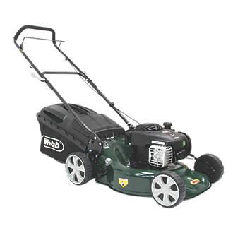 Webb WER18HP 46cm N/Ahp 125cc Push Rotary 3-in-1 Petrol Lawn Mower