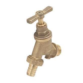 15mm x ½ Outside Tap with Double Check Valve