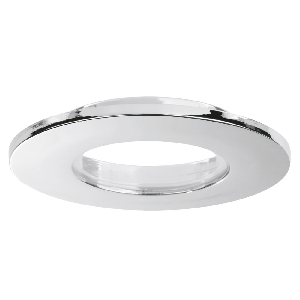 Image of Enlite E8 IP65 Round Downlight Bezel Polished Chrome 85mm