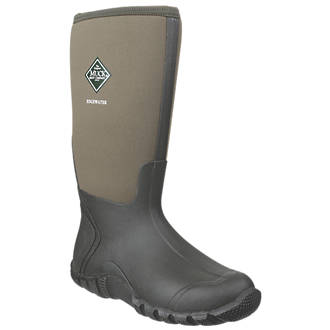 Muck Boots Edgewater Non-Safety Wellington Boots Green Size 11