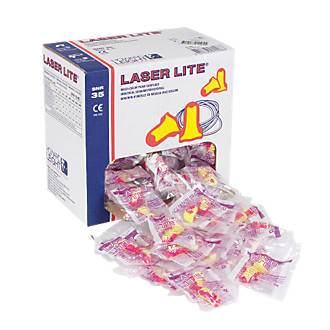 Howard Leight Laser Lite 35dB Ear Plugs 200 Pairs