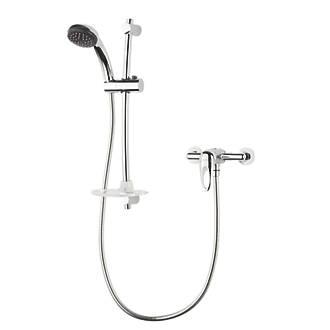 Triton Kaho Exposed Manual Mixer Shower Flexible Chrome