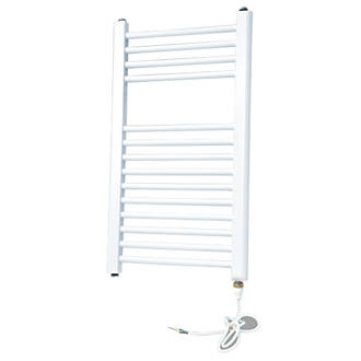 Flomasta Flat Electric Towel Radiator White 700 x 400mm 512Btu