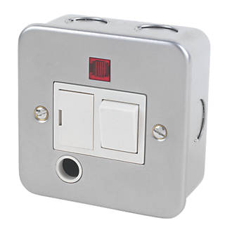 metal clad switches sockets metal clad wiring wiring 13a switched fused connection unit neon flex outlet metal clad