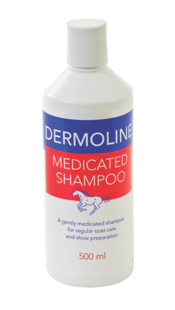 Battles Dermoline Medicated Horse Shampoo 500ml