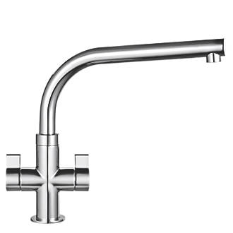 Franke Sion Dual-Lever Mono Mixer Kitchen Tap Chrome