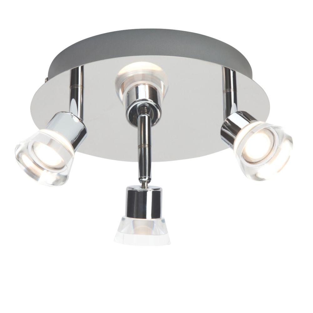 Brilliant 3-Light LED Spotlight Chrome 450lm 3W