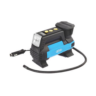 Ring Automotive Metal Digital Air Compressor with Light 12V